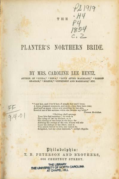 Planters Bride